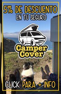 5% descuento seguro furgoneta camper Campercover